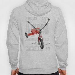 Red Tricycle Hoody
