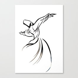 Sufi Meditation Canvas Print