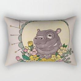 Keep your eyes open Rectangular Pillow