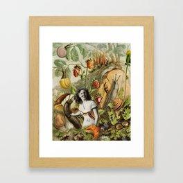 Betsy the Snail Wrangler Framed Art Print