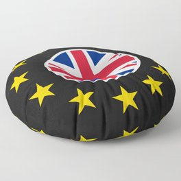 No Brexit! Stay! Floor Pillow