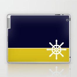 Nautical Wheel Laptop & iPad Skin