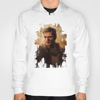 mad max Hoodies featuring Max by nlmda