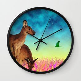 Day's End Wall Clock