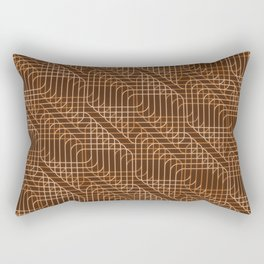 Op Art 95 Rectangular Pillow