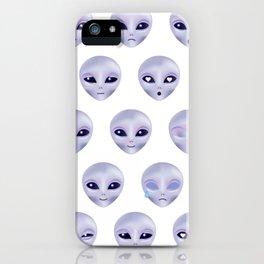 Alien Emotions iPhone Case