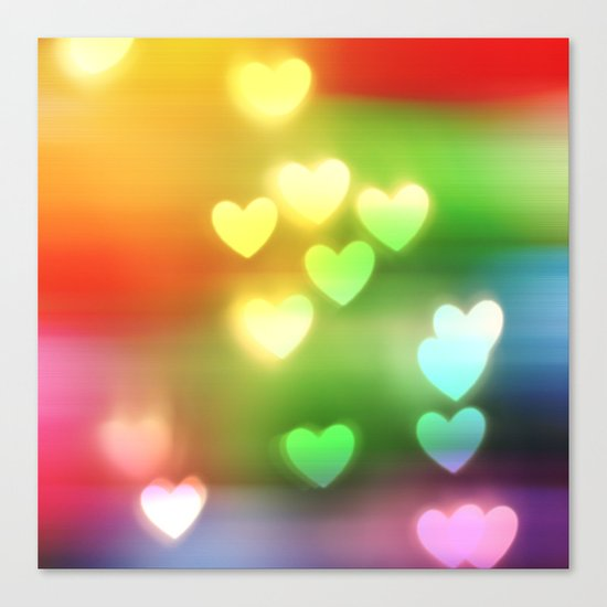 Love in Motion Canvas Print