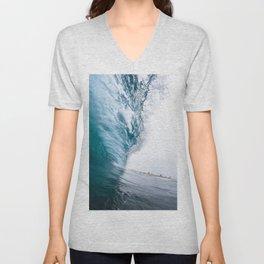 Beautiful Wave Crash Unisex V-Neck