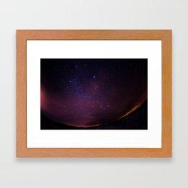 space ball Framed Art Print