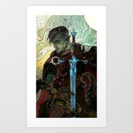 Will you walk my lands Art Print