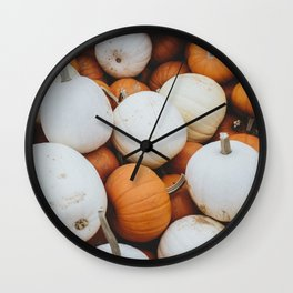 Pick Your Pumpkin Wall Clock