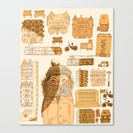 HELSINkiva! Canvas Print