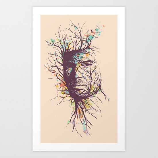 Natural Existence Art Print