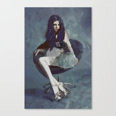 Ask Alice Canvas Print