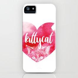 kittykat iPhone Case