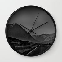 scotland Wall Clocks featuring Scotland by itsthezoe