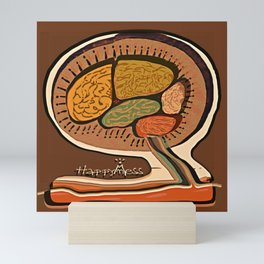 Terracotta HappyMess #society6 #buyart Mini Art Print