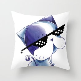 MY CAT: SPECIAL EDITION OF THE CAT'S DAY Throw Pillow