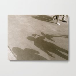 When I Walk With You Metal Print