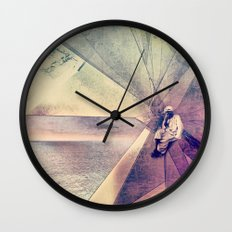 Coral House Wall Clock
