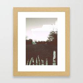 SFT scratched Framed Art Print