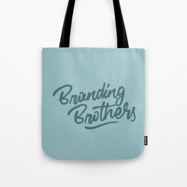 Branding Brothers turquoise Tote Bag