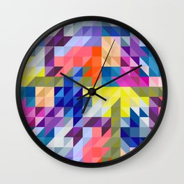 Background colour Wall Clock