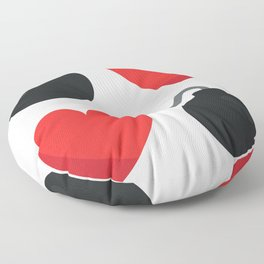 Two Bombs Together Floor Pillow