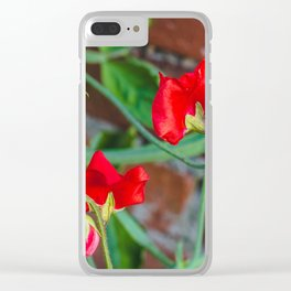 Sweet Pea 3 Clear iPhone Case