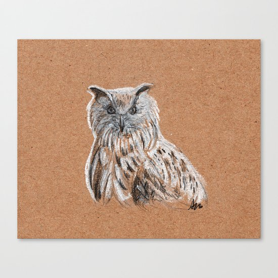 OWL by agatascribbles