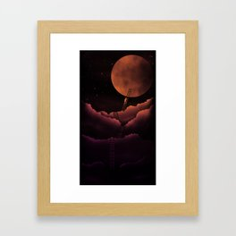 Stairway To the Moon Framed Art Print