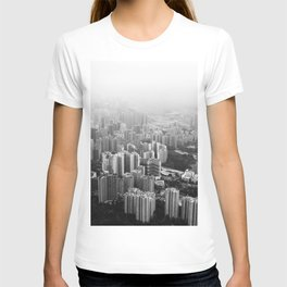 The Cityscape (Black and White) T-shirt
