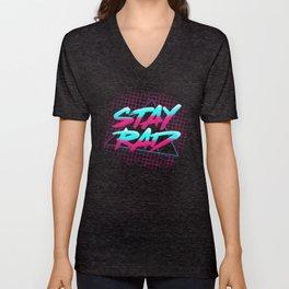 Stay Rad Unisex V-Neck