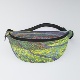 Van Gogh Enclosed Field with Rising Sun Fanny Pack