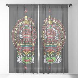 kathakali Sheer Curtain