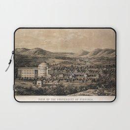 University of Virginia, Charlottesville & Monticello (1856) Laptop Sleeve