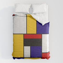 Mondrian De Stijl Art Movement Comforters