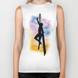 Sunset Silks Biker Tank