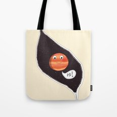Hello Jupiter Tote Bag
