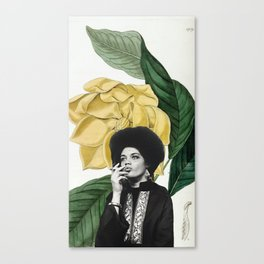 kathleen cleaver Canvas Print