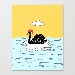 Shazam the Swan Canvas Print