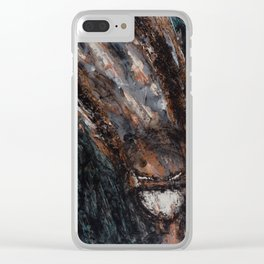Expresión Clear iPhone Case