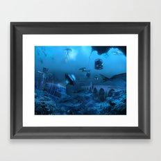 Submarine Framed Art Print
