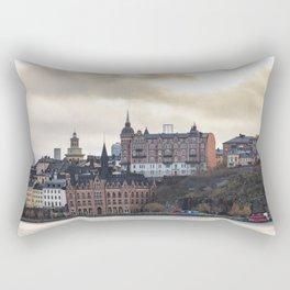 Gamla stan, Stockholm, Sweden Rectangular Pillow