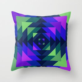 Bayer I Throw Pillow