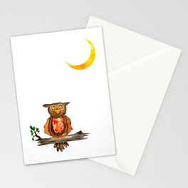 hello moon Stationery Cards