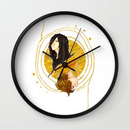 The Shadow of a Broken Dream Wall Clock