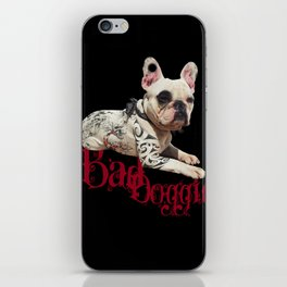 Bad Doggie iPhone Skin
