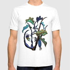 Jolie Ville Mens Fitted Tee White SMALL