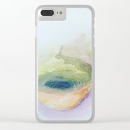 Sinkhole Clear iPhone Case
